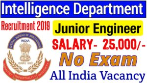 ICSIL INTELLIGENT COMMUNICATION SYSTEMS INDIA LTD Junior Engineer Recruitment 2019