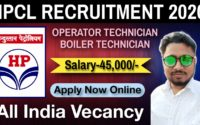 HPCL Visakh Refinery Recruitment 2019