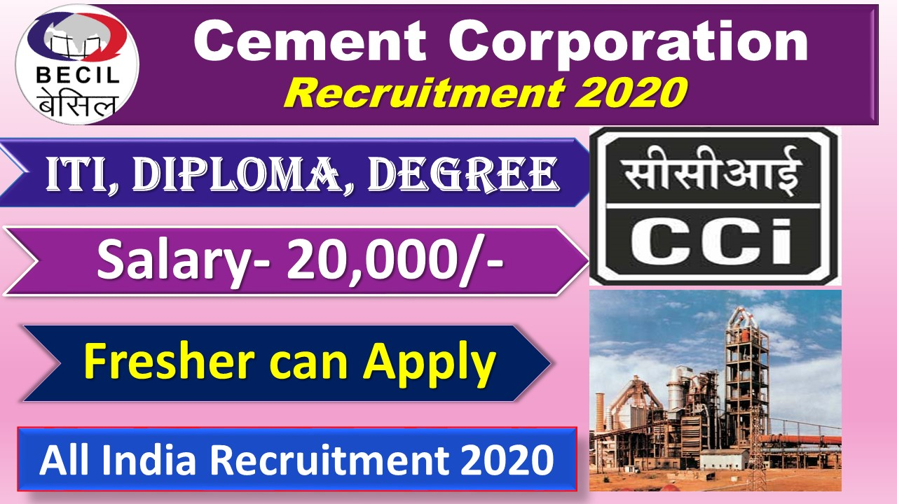 BROADCAST ENGINEERING CONSULTANTS INDIA LIMITED Recruitment 2020